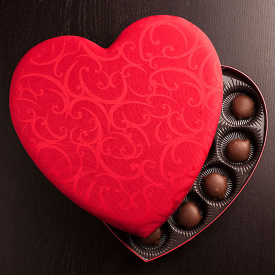 food wine anatomy of a box of chocolates - Valentines Dy