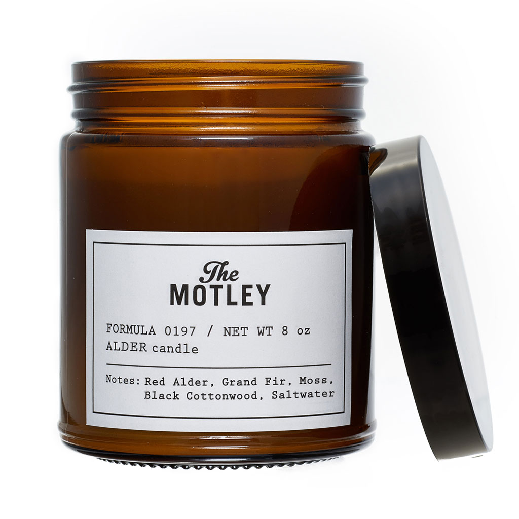 The Motley ALDER Soy Wax Candle