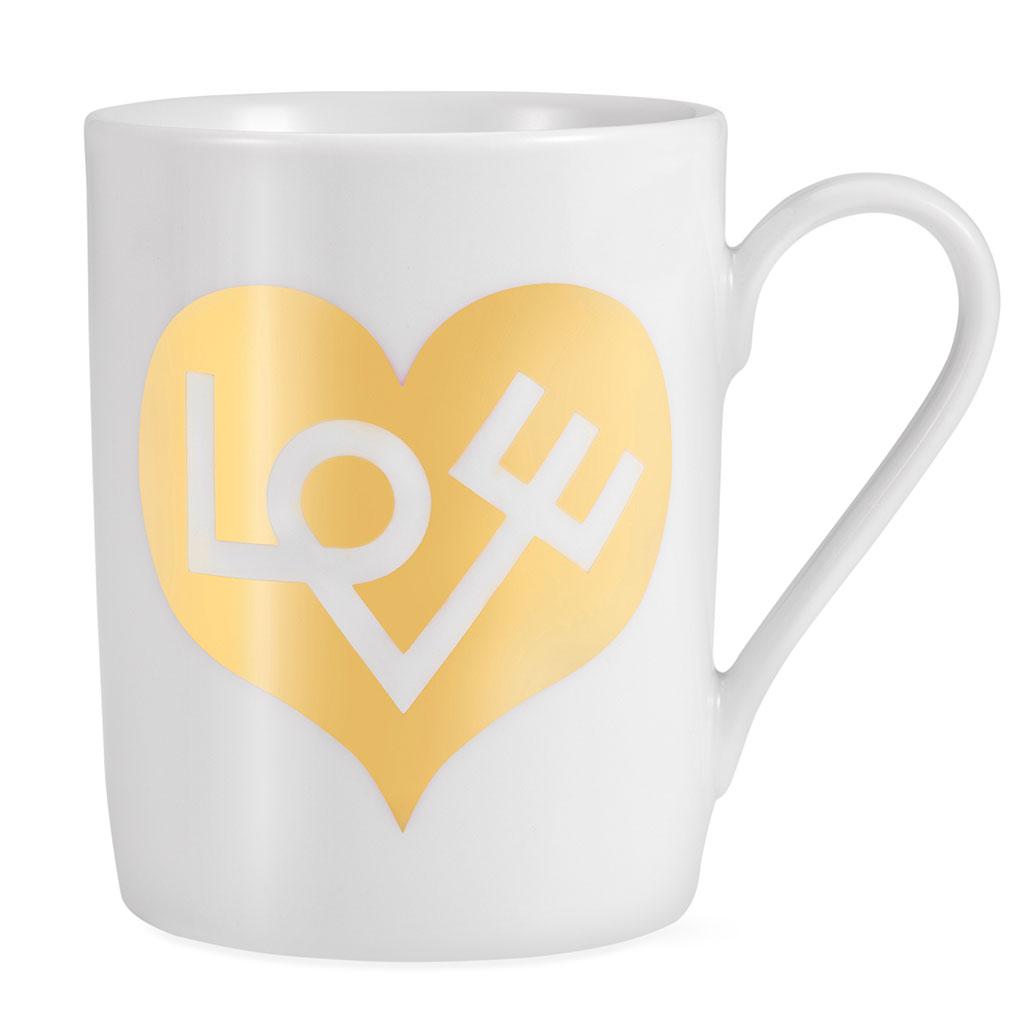 Alexander Girard Love Coffee Mug