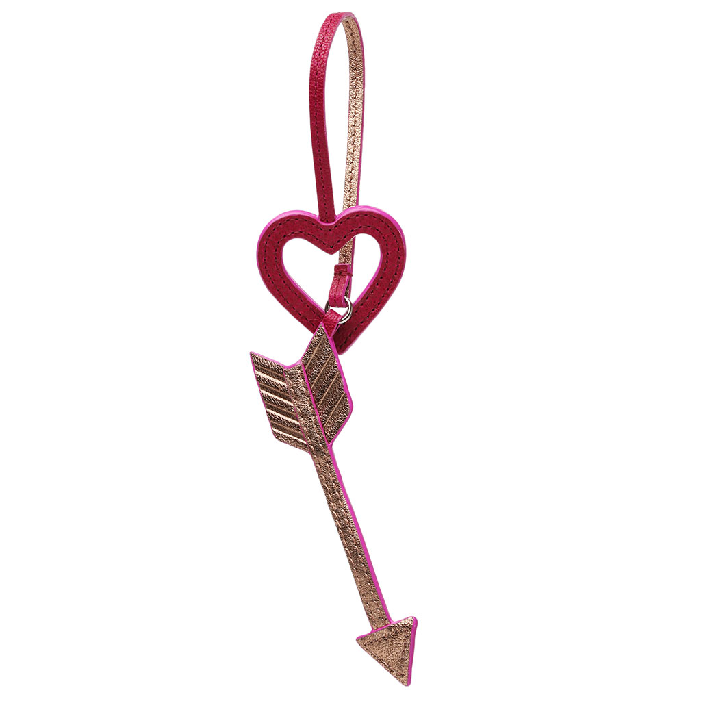 MZ Wallace Heart and Arrow Charm
