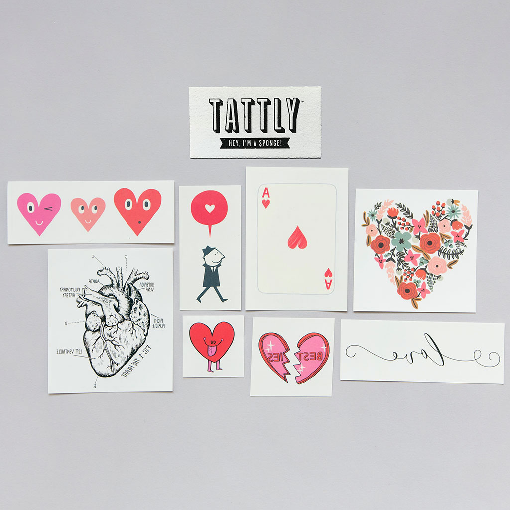 Tattly Heart Set