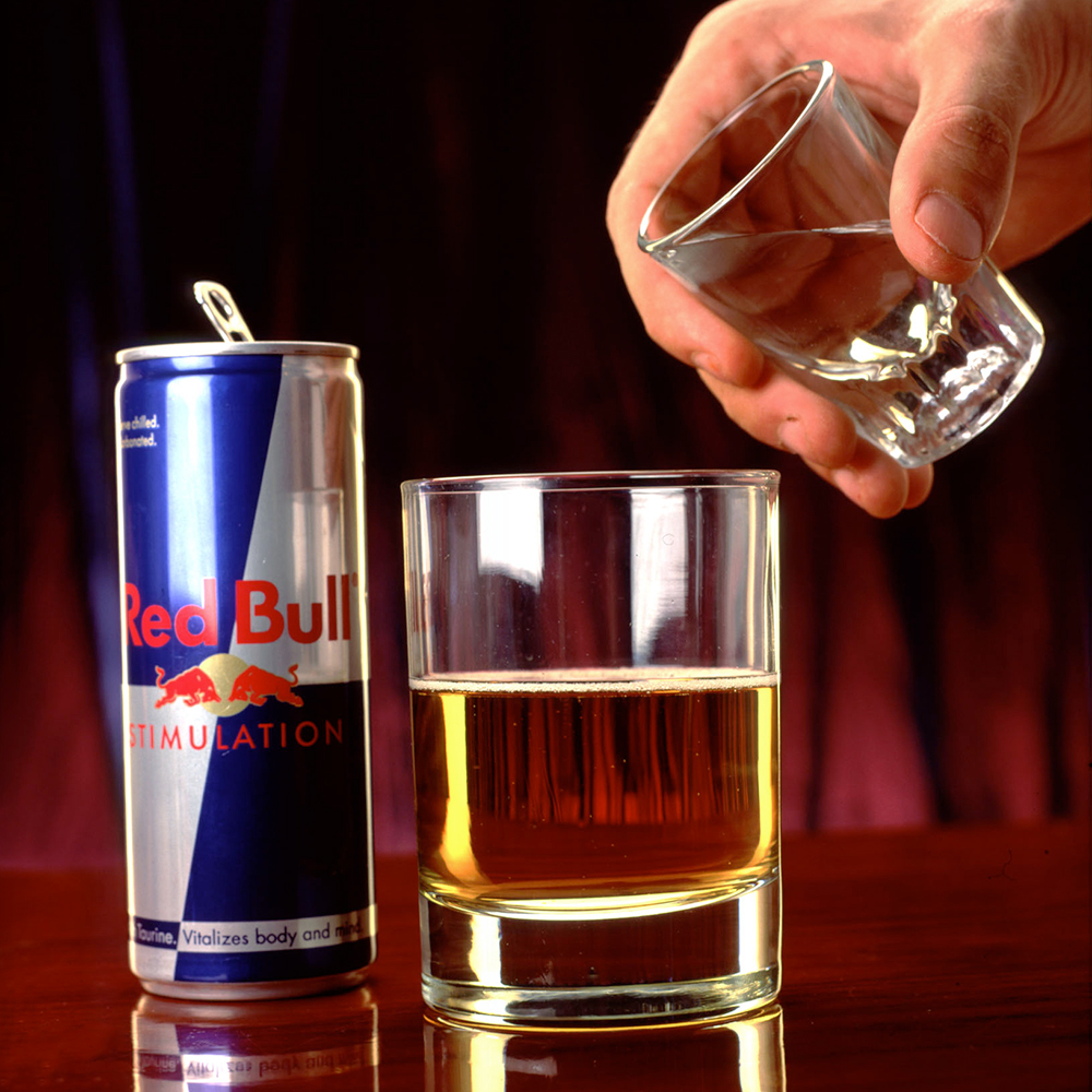 vodka and redbull