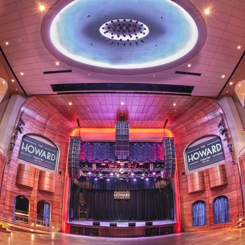 Inside the Howard Theatre