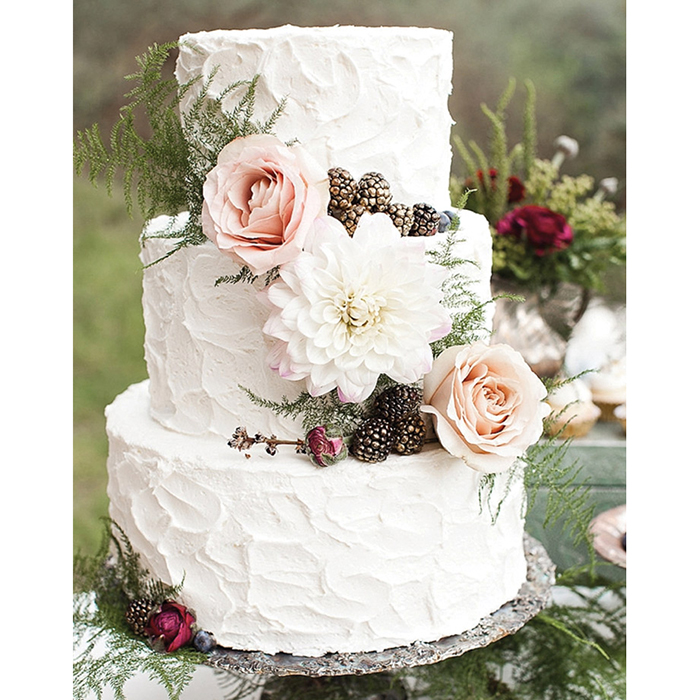 Rustic Wedding Cake Ideas: 7 Wedding Cake Trends That Will Make Your Mouth Water