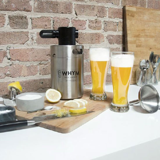 WHYM Beer Brewing