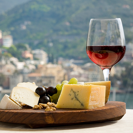 wine and cheese mapping