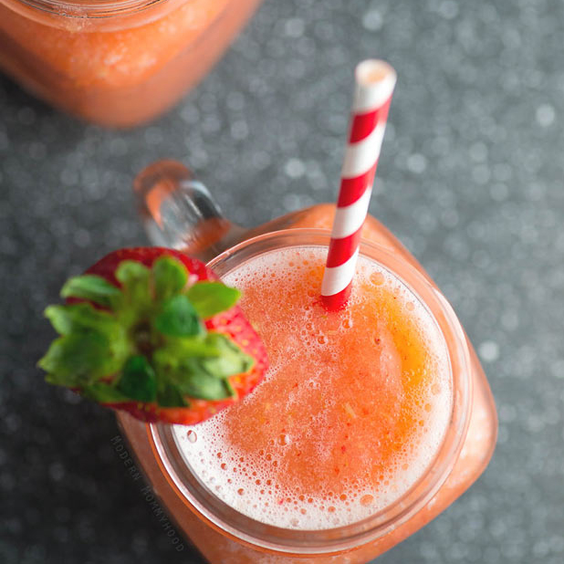 Summer Fruit Wine Slush