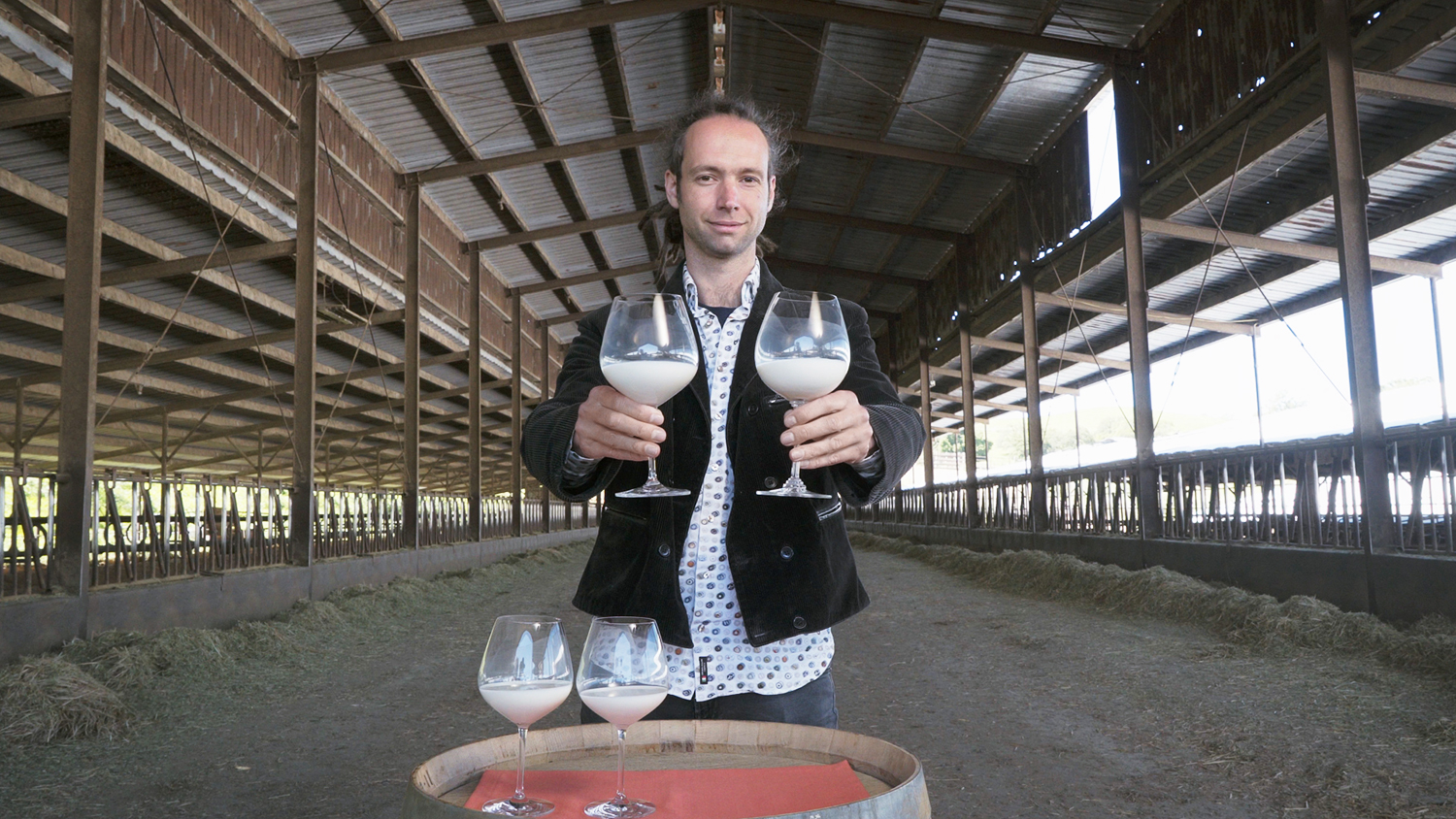 worlds first milk sommelier
