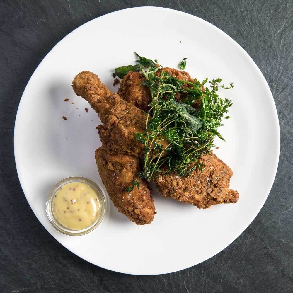 Sourdough Pretzel Fried Chicken