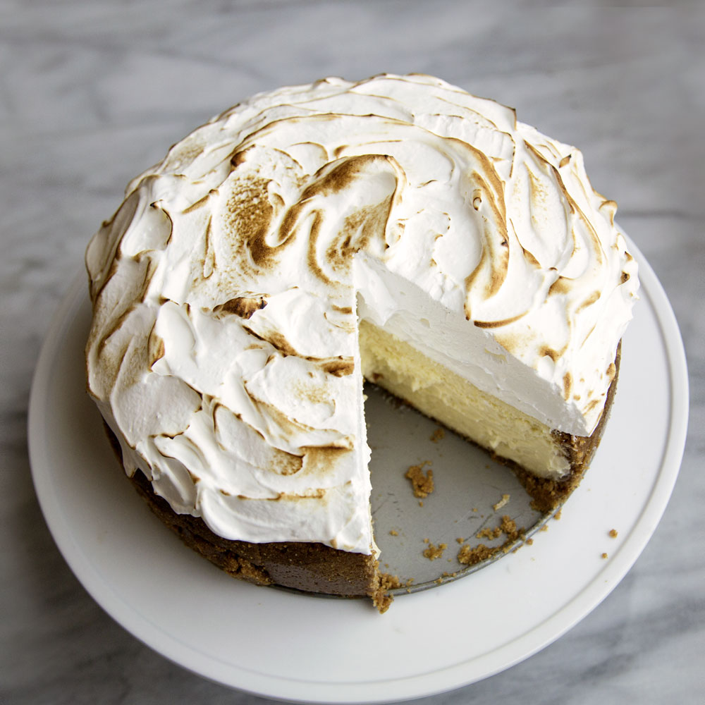 Lemon Merginue Cheesecake