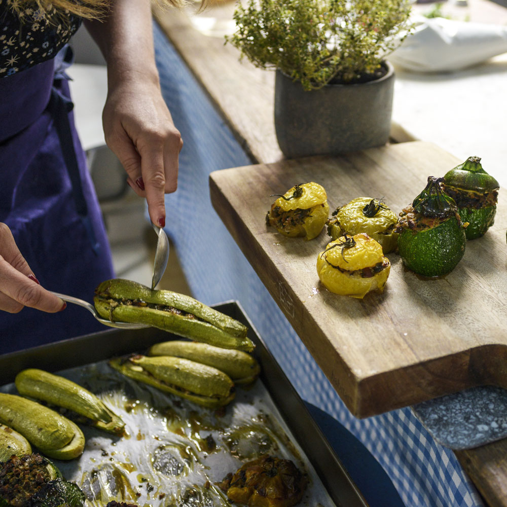 Smoked Tofustuffed Vegetables Recipe Angle Ferreux Maeght Food
