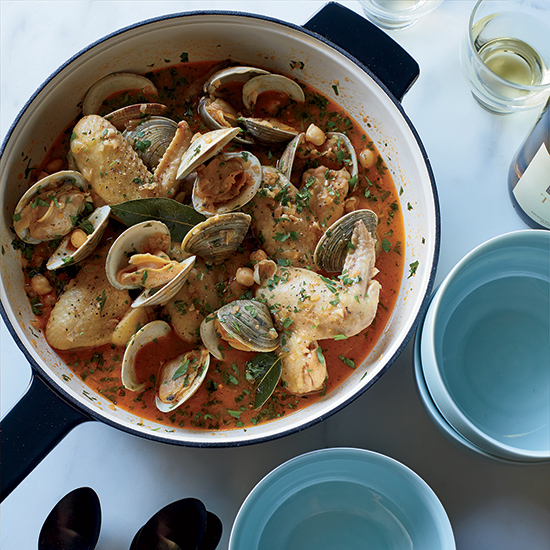 Jamie Bissonnette: Beer-Braised Chicken Wings with Clams