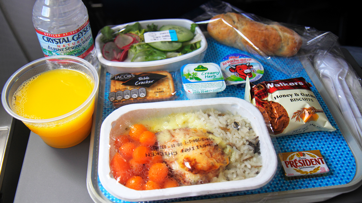 airline food packaging