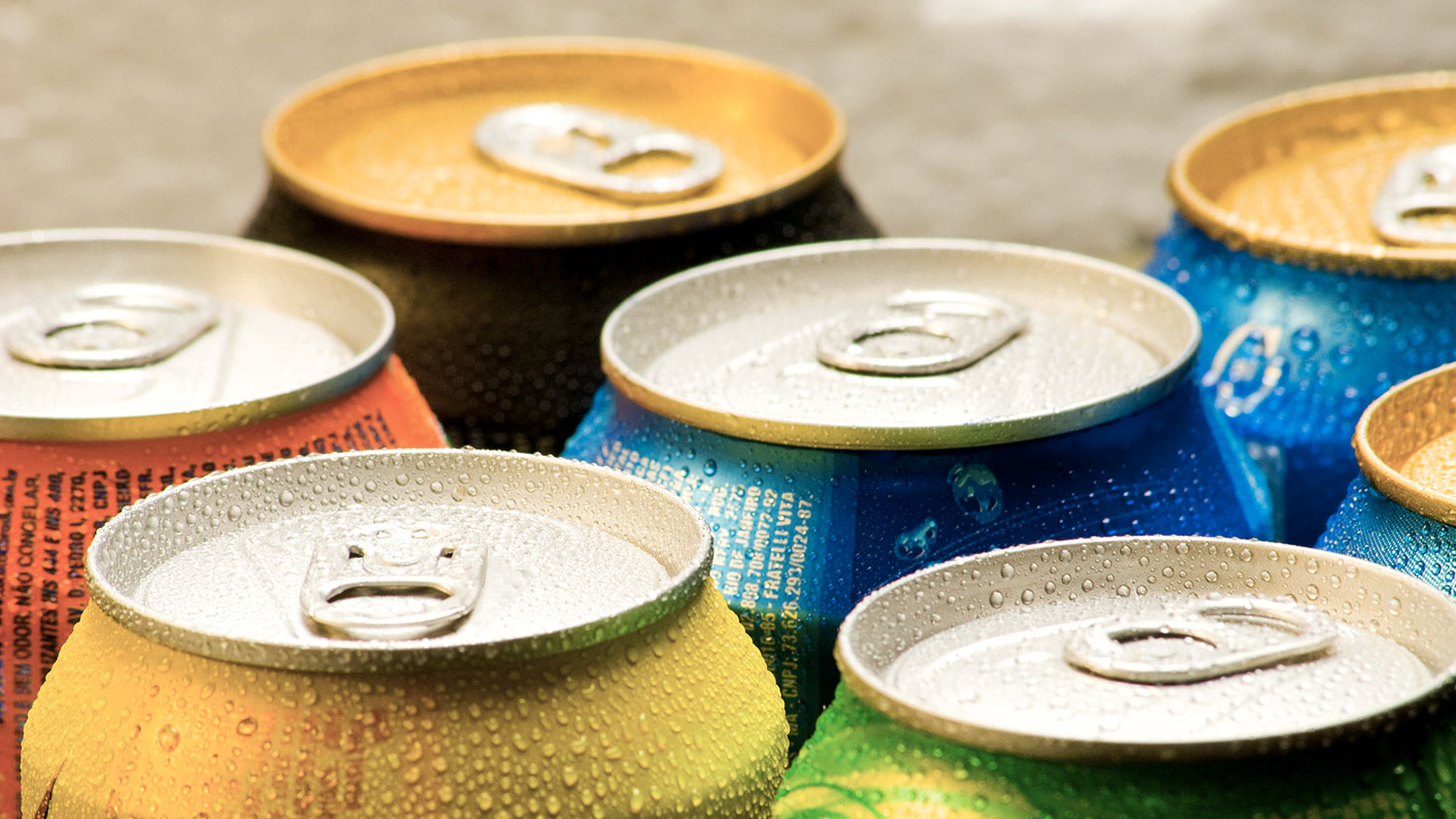 aluminum can prices of beer and soda