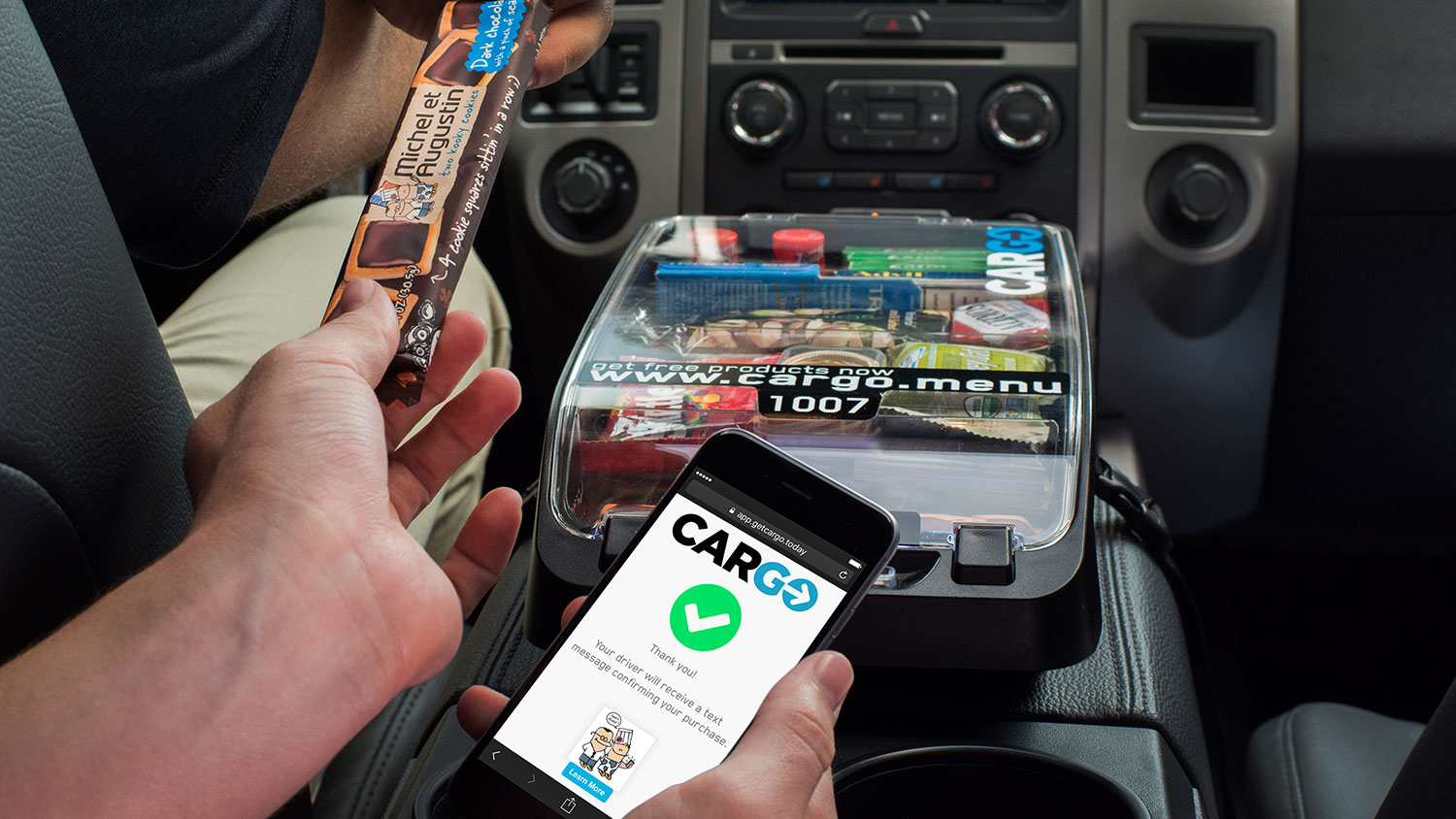 Uber Introduces In-Car Vending Machines | Food & Wine