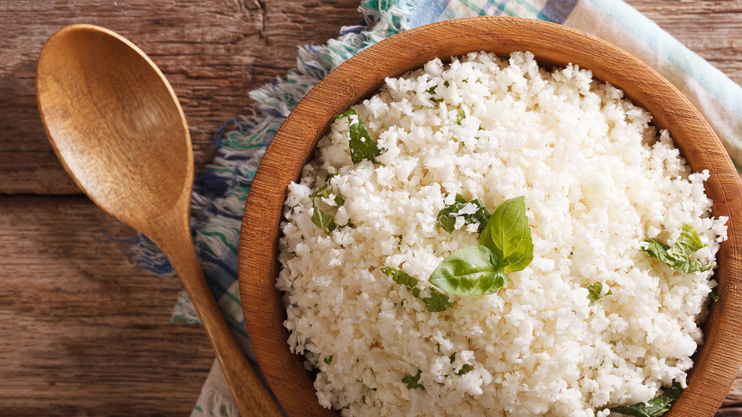 cauliflower rice at trader joes