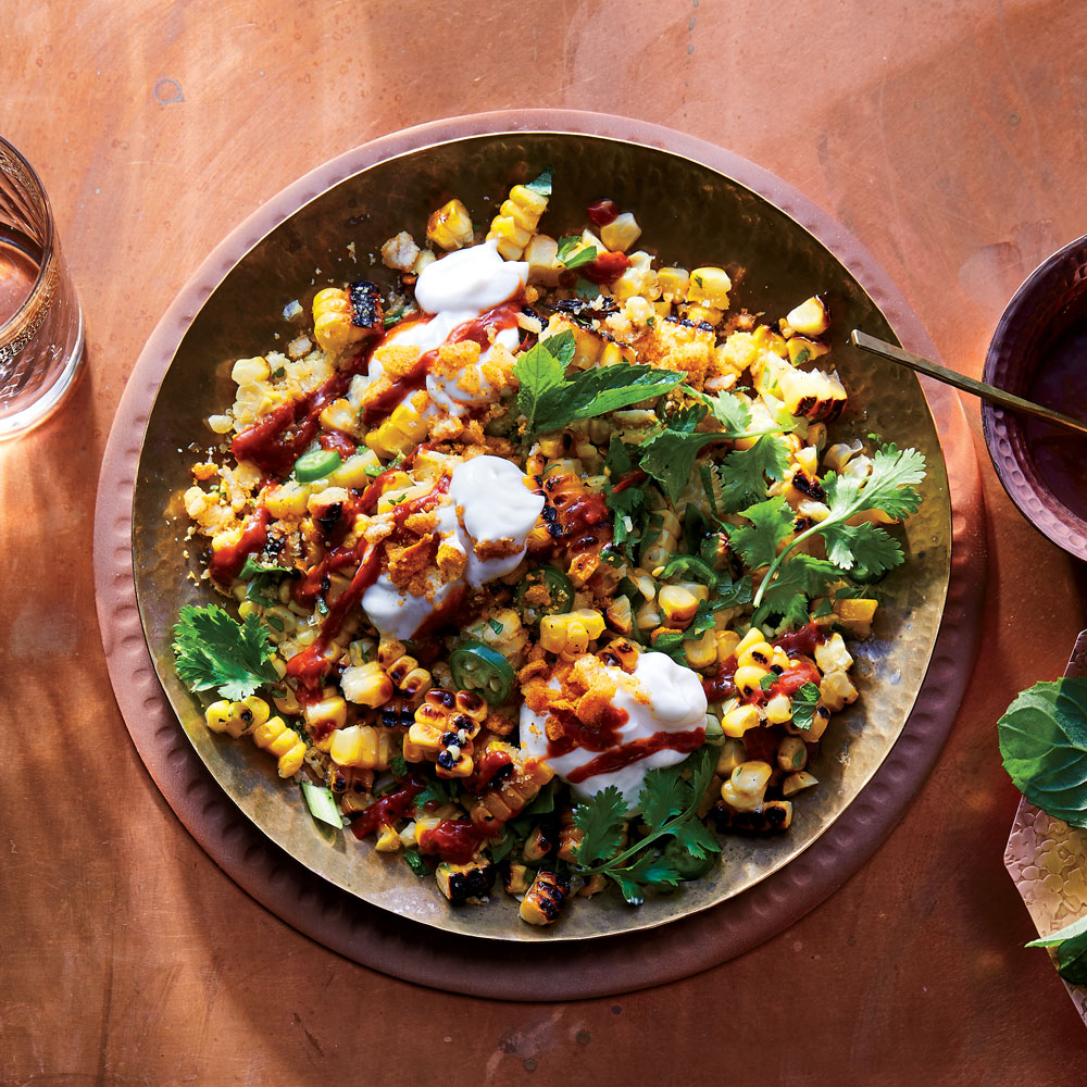 Corn Chaat with 
