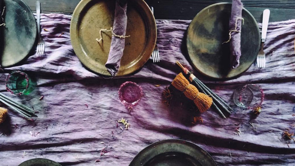 Dyeing Fabric with Food Scraps
