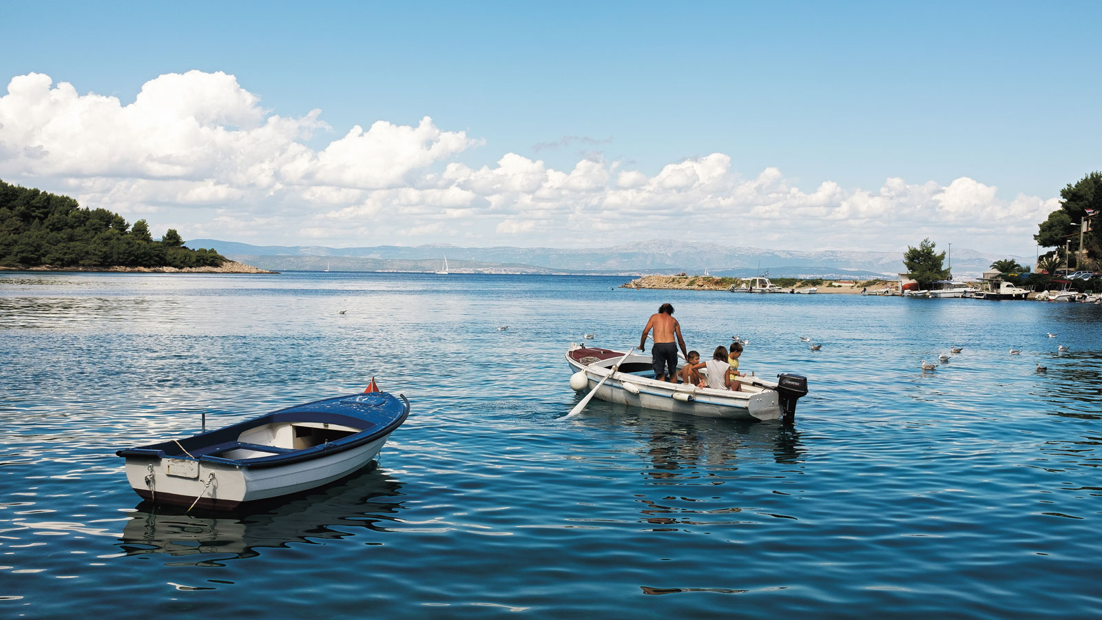 FIshing at Croatia's Mediterranean Coast
