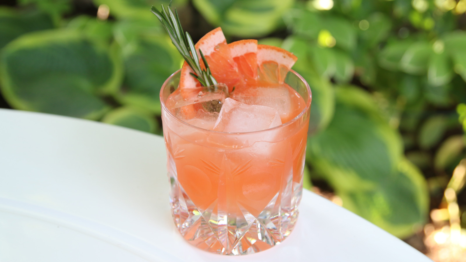 Grapefruit & Rosemary Reposado Cocktail