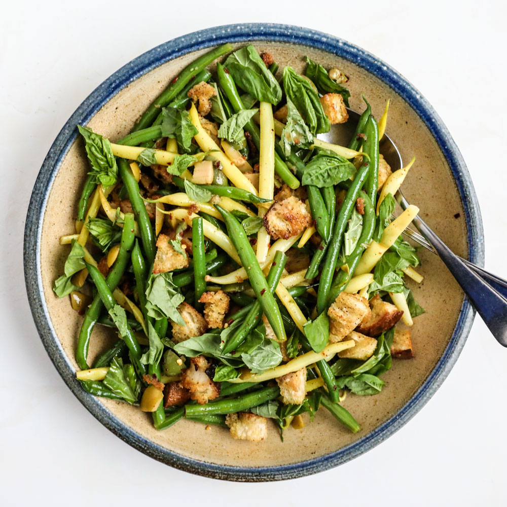 Green and Wax Bean Salad