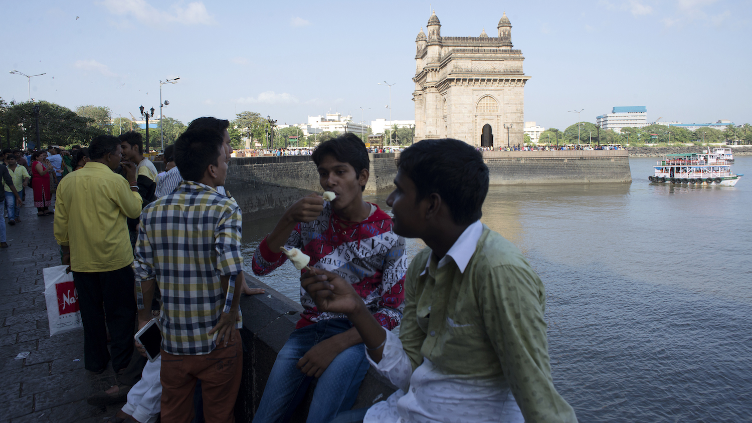 Ice cream sales in India