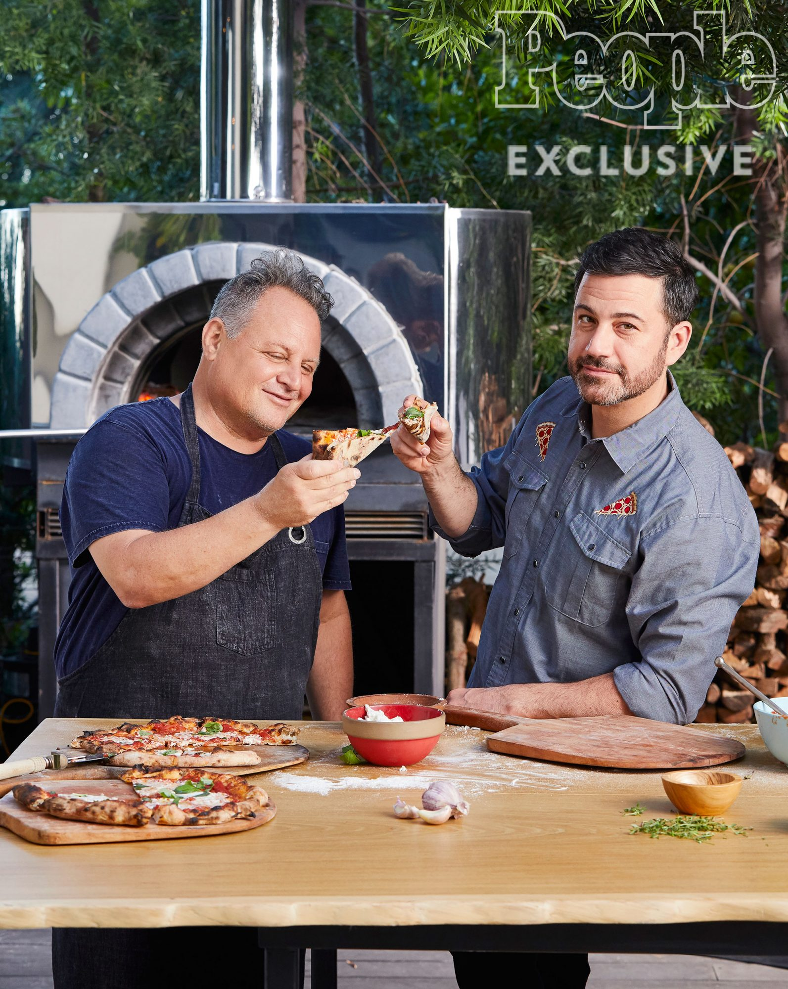 The Story Behind Jimmy Kimmel and Pizza Legend Chris Bianco's Food-Fueled Friendship