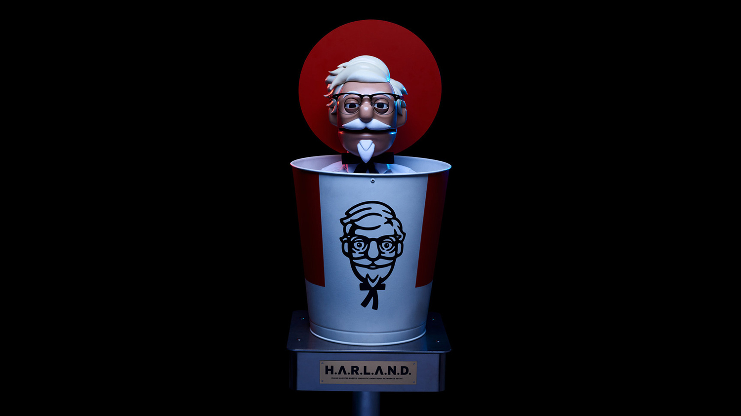 KFC Made a Robot Colonel Sanders for the Drive Thru