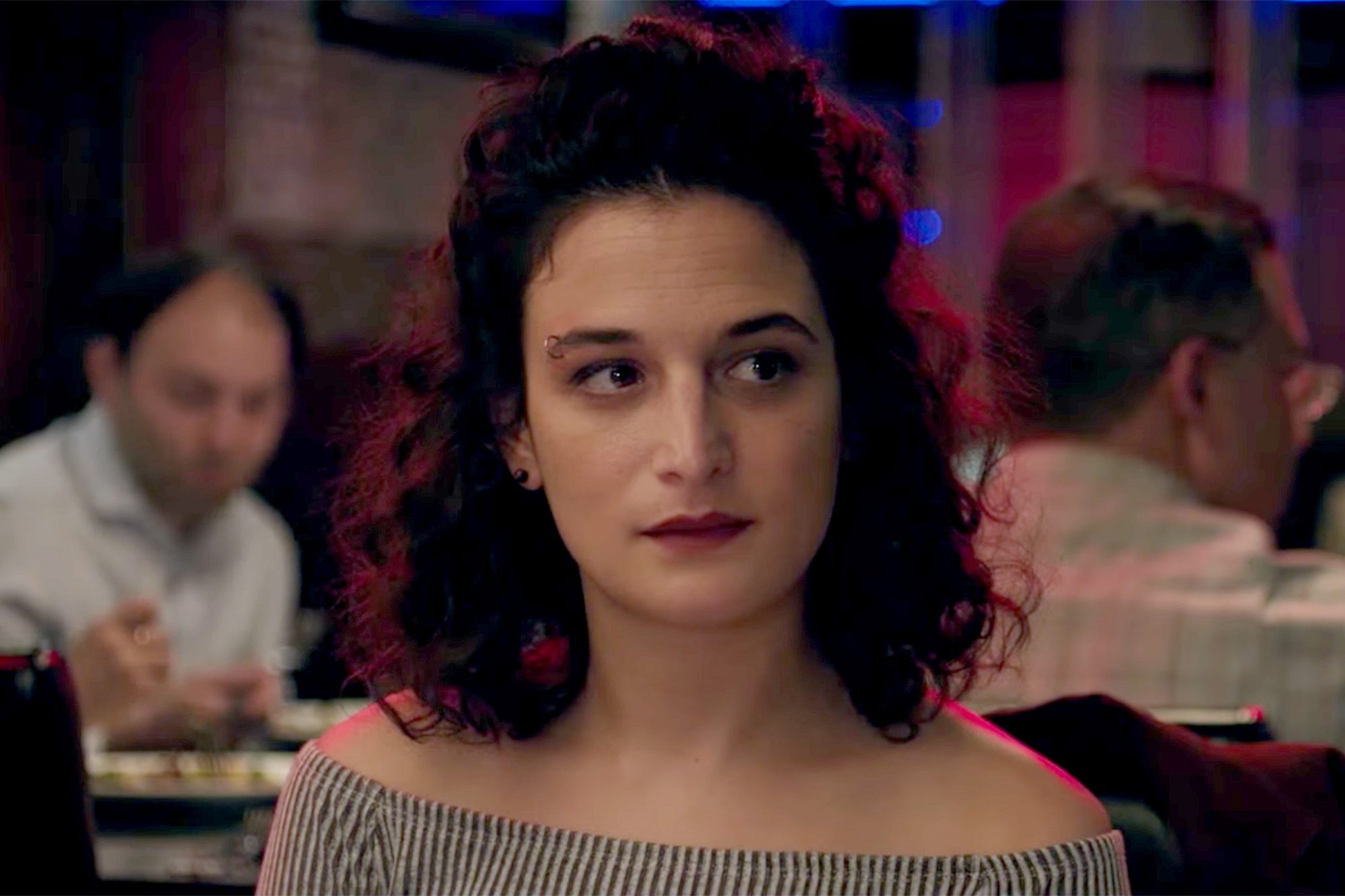 Jenny Slate on hummus, the pottery scene in 'Ghost,' and trying not to hate horses