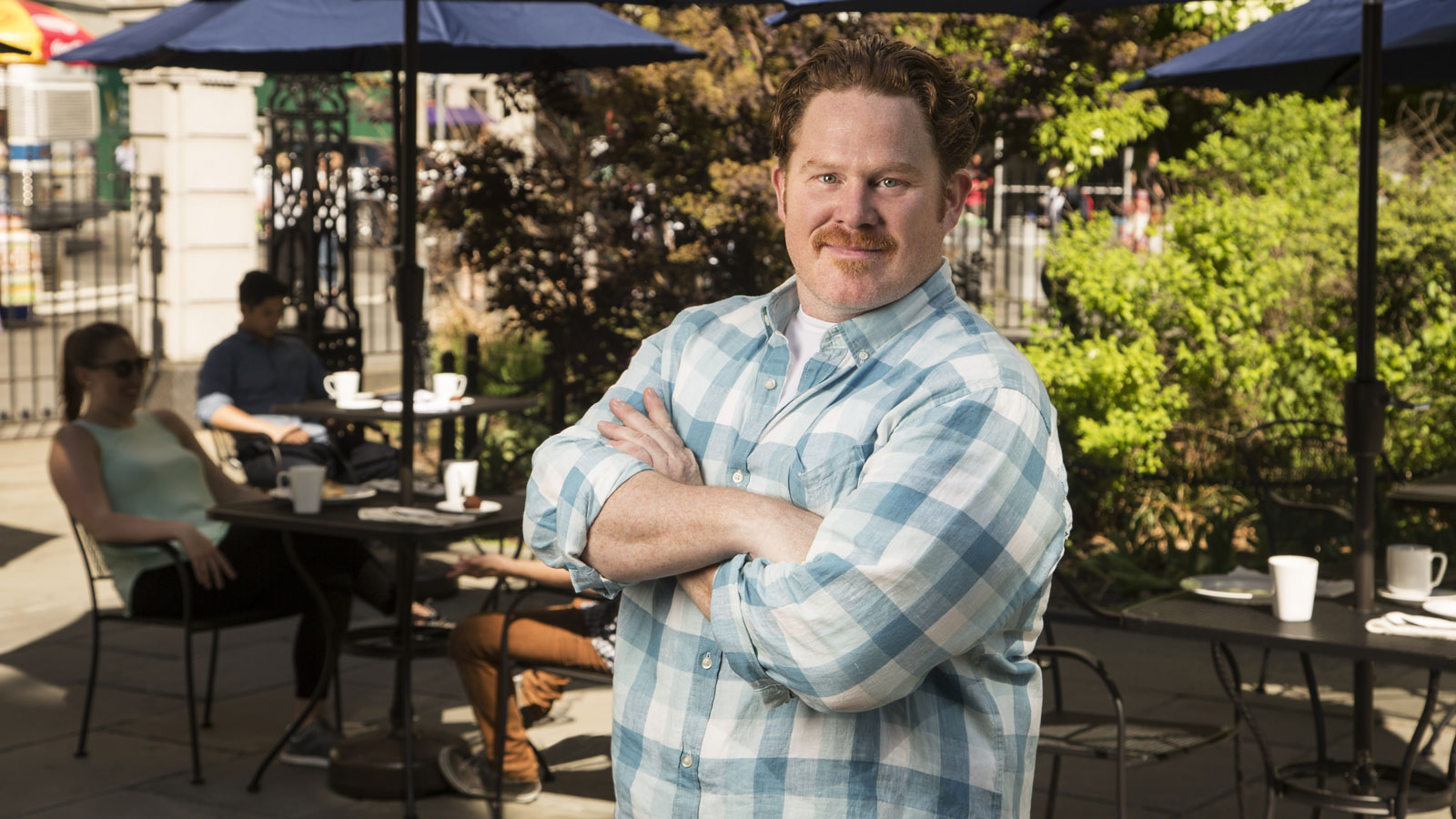 Casey Webb of Man V. Food