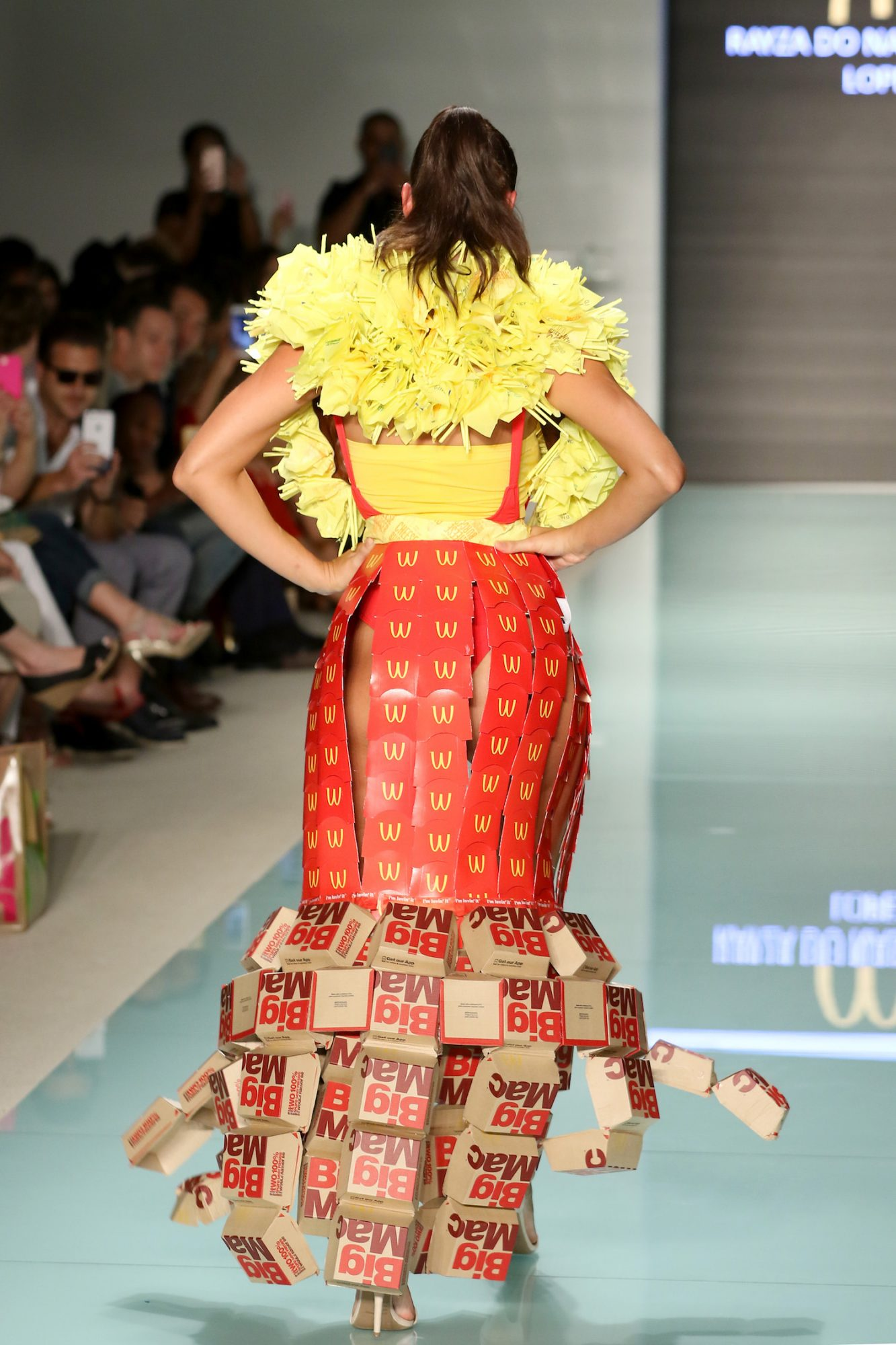 McDonald's fashion show