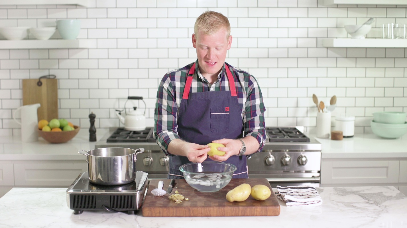 Never Peel Potatoes Again With This Easy Trick