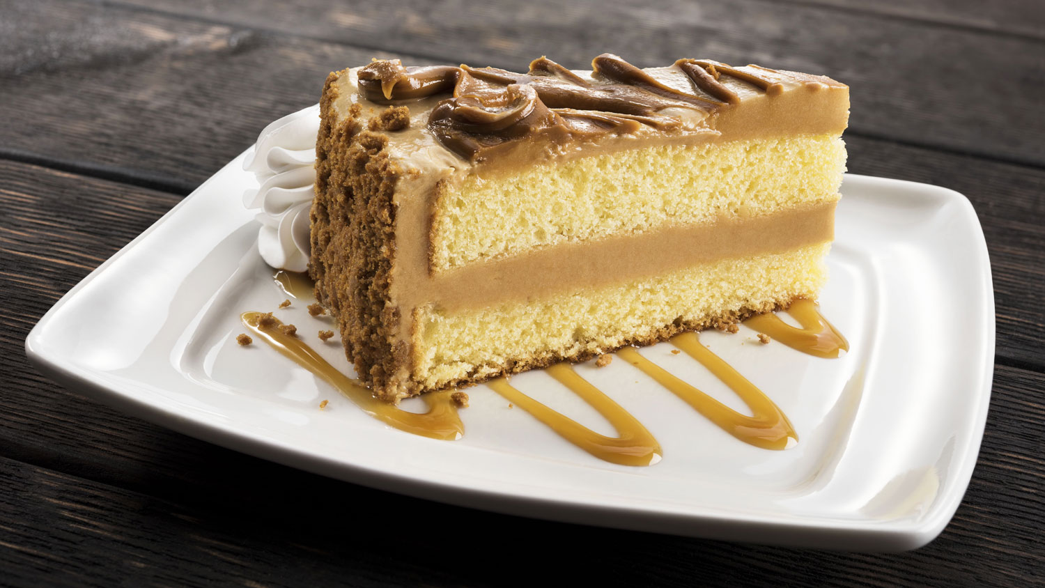 cookie butter cake at olive garden