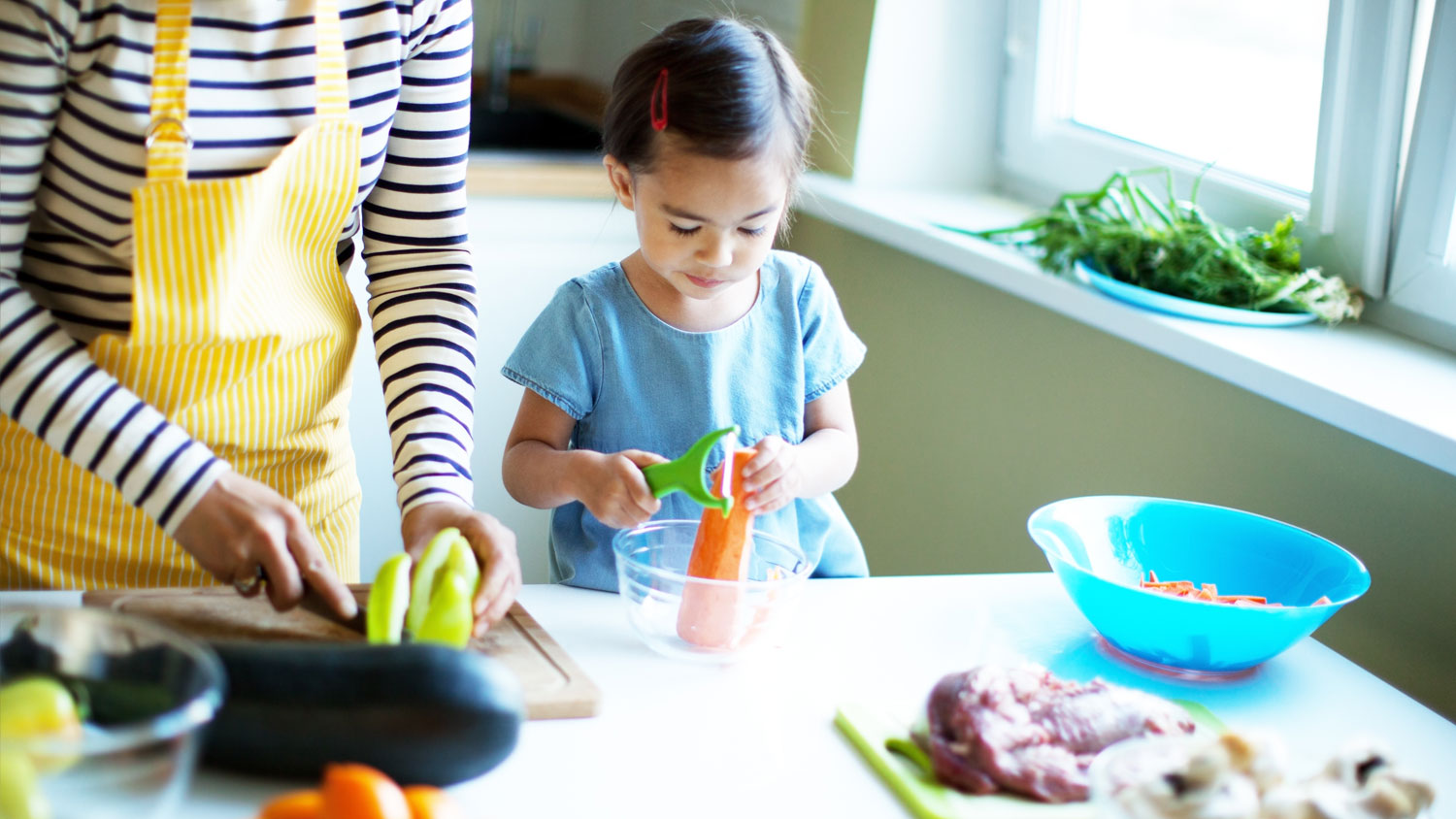parents and children eating habits match