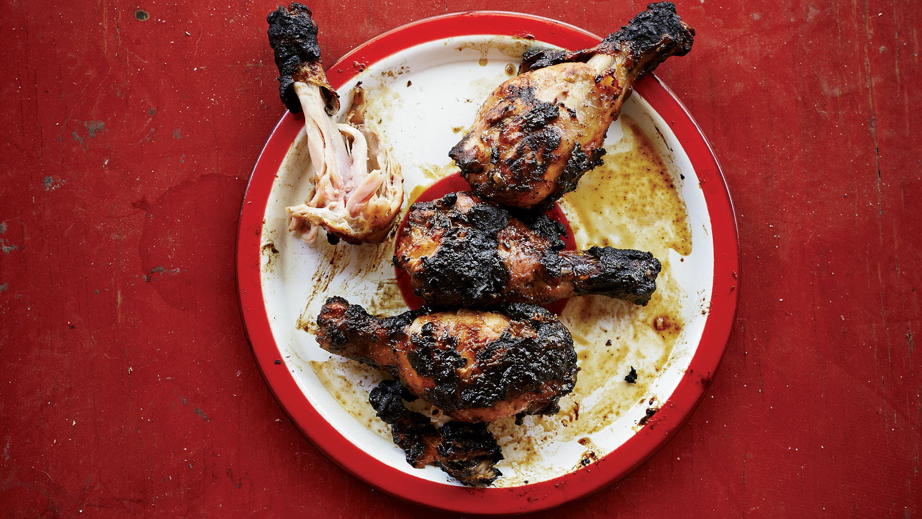 Smoked Chicken Drumsticks with Coriander