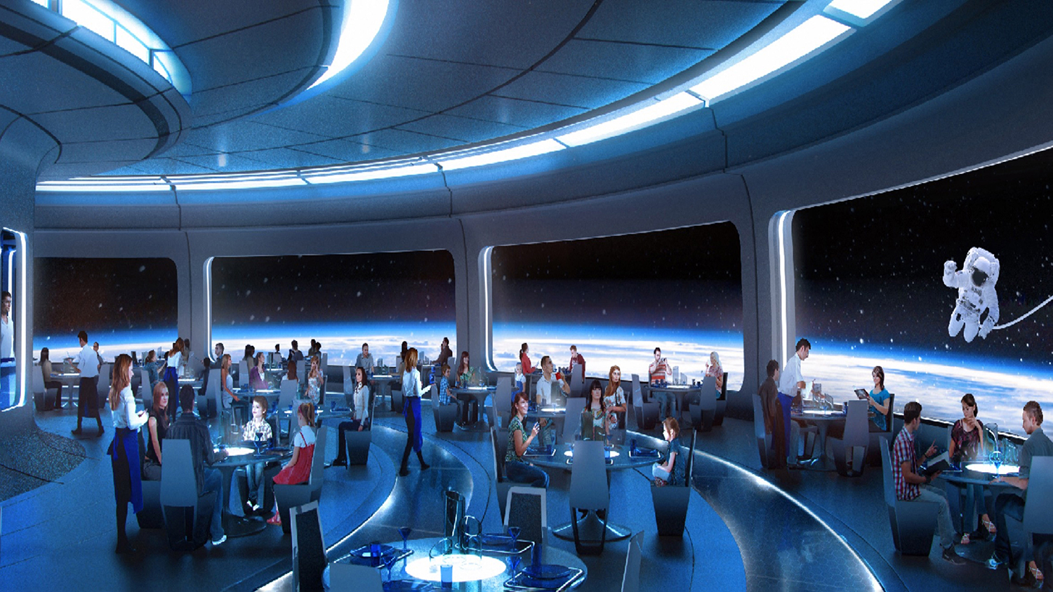 epcot new space restaurant in walt disney world