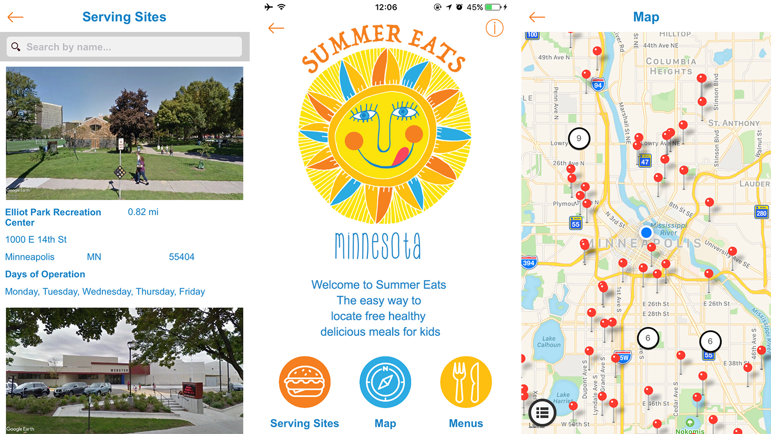 summer eats Minnesota app