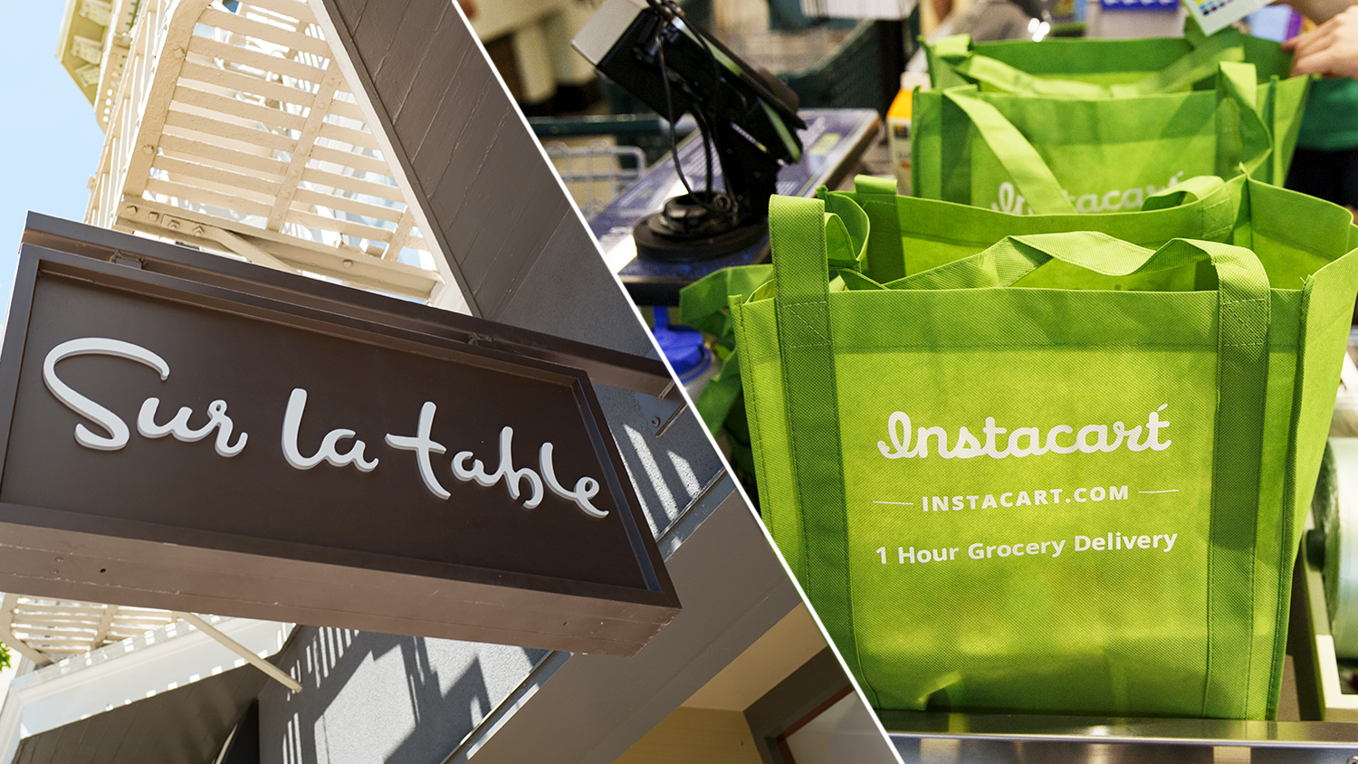 sur la table and instacart