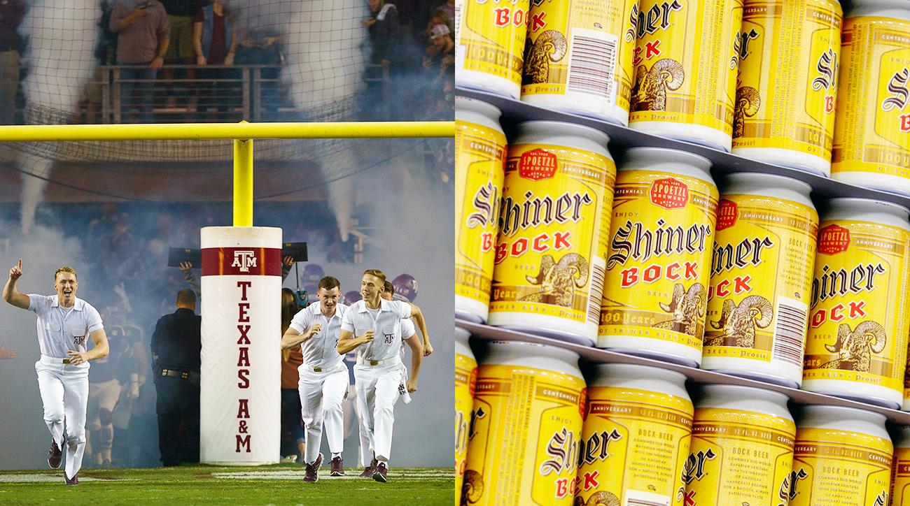 Forget Texas and Corona. Here are the perfect alcohol pairings for college football programs