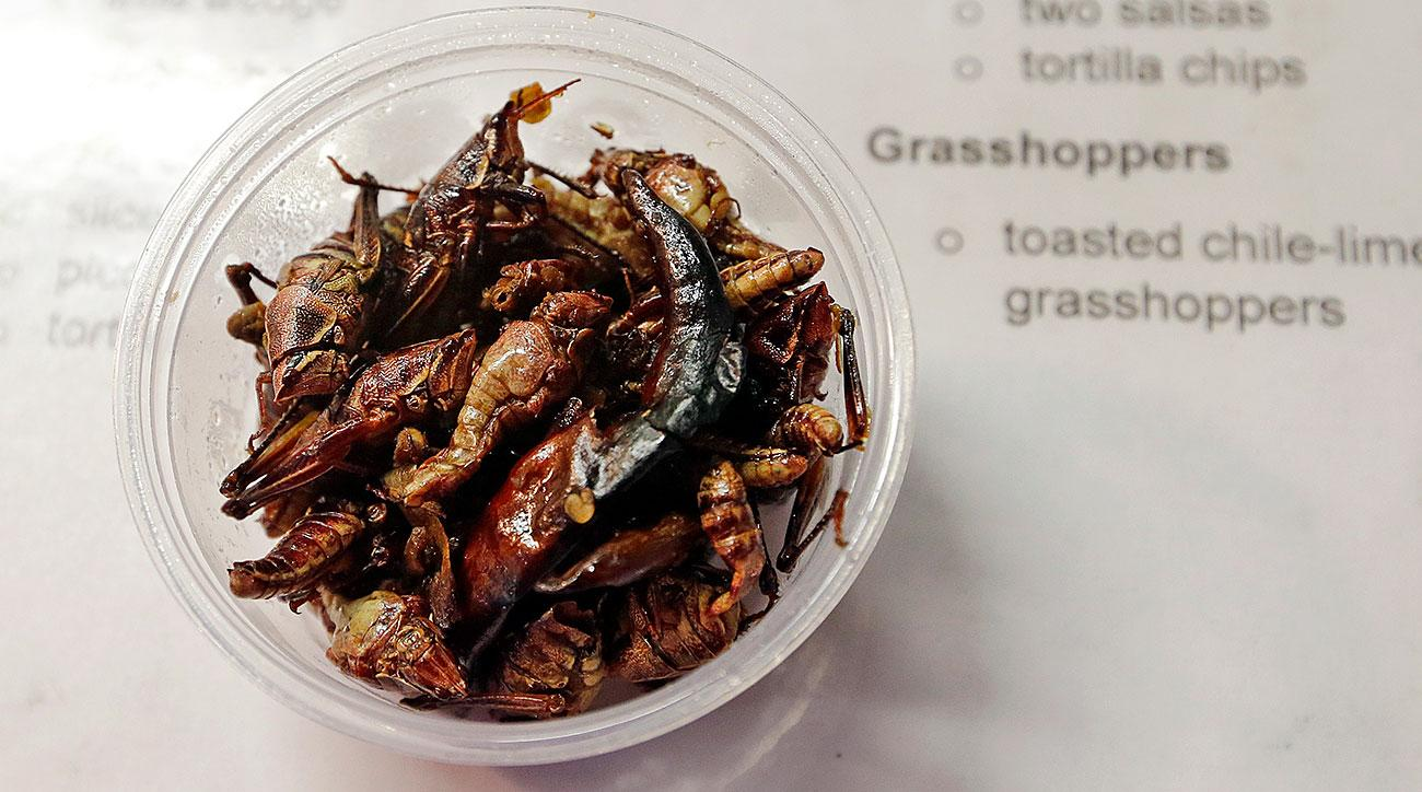 'Buy Me Some Peanuts and Grasshoppers': How toasted bugs became a huge hit at Safeco Field