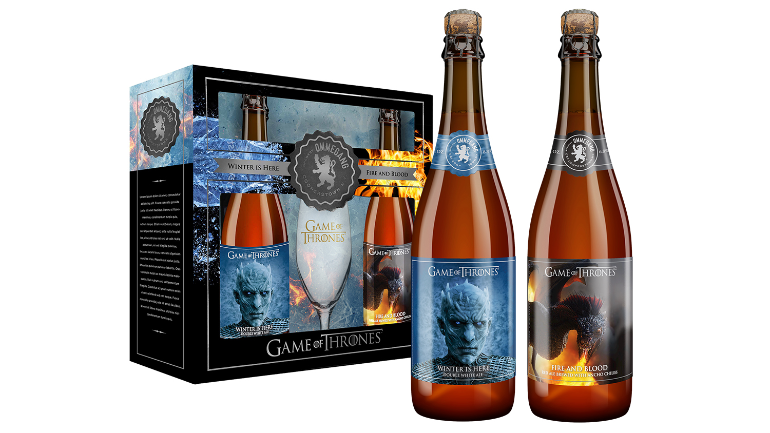 Winter is Here Game of Thrones new beer