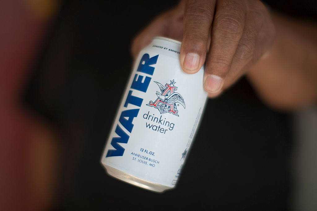 Anheuser-Busch Repurposes Its Brewery to Make Drinking Water for Harvey Victims