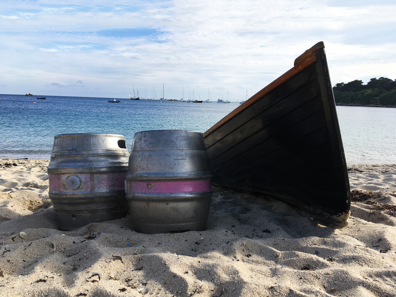 grayhound lugger sailed for ales scilly shipping beer