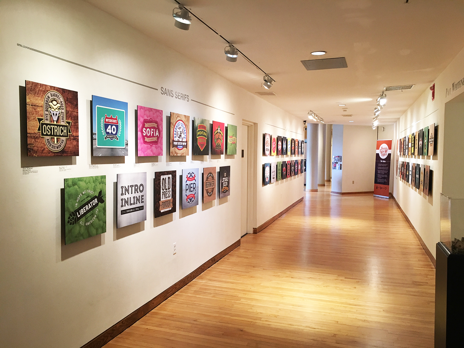Beer Logos Inspire Art Exhibition in North Carolina