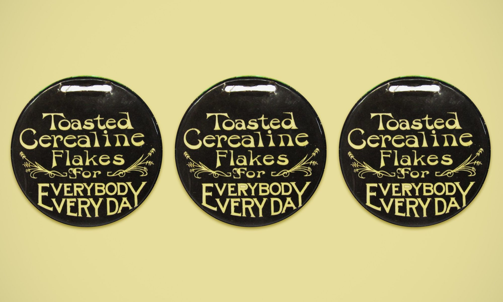 Cerealine button