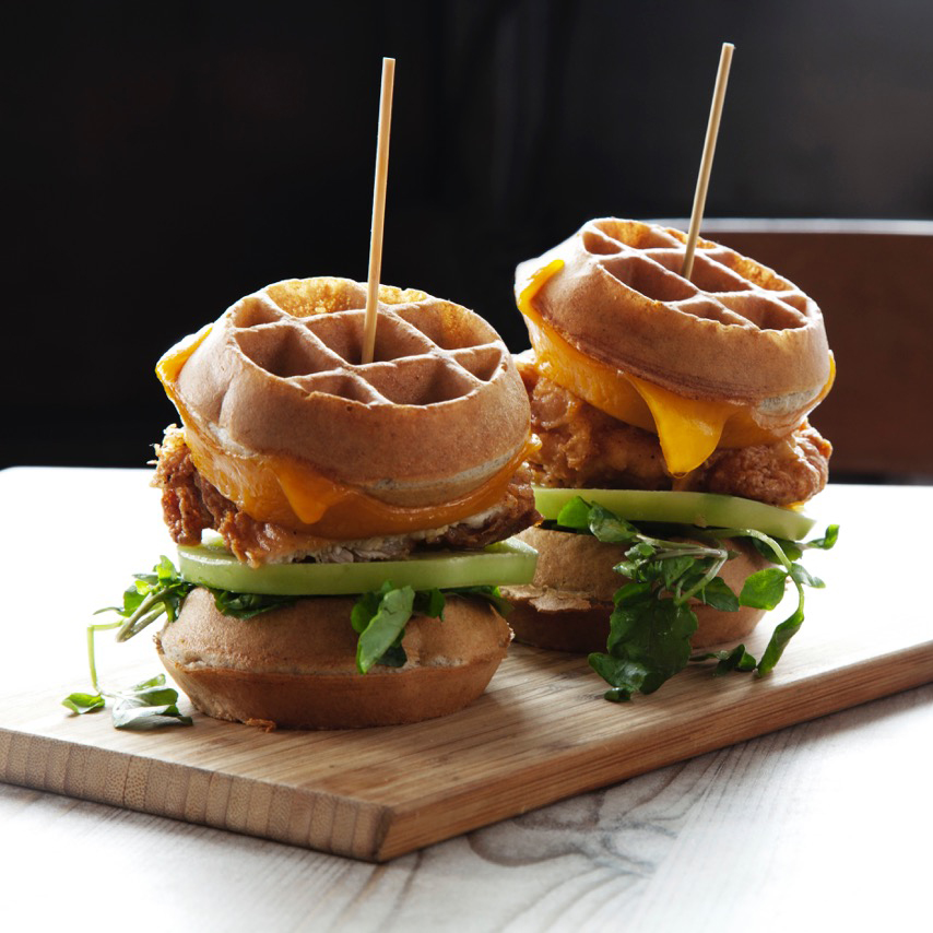 Root & Bone Chicken and Waffles