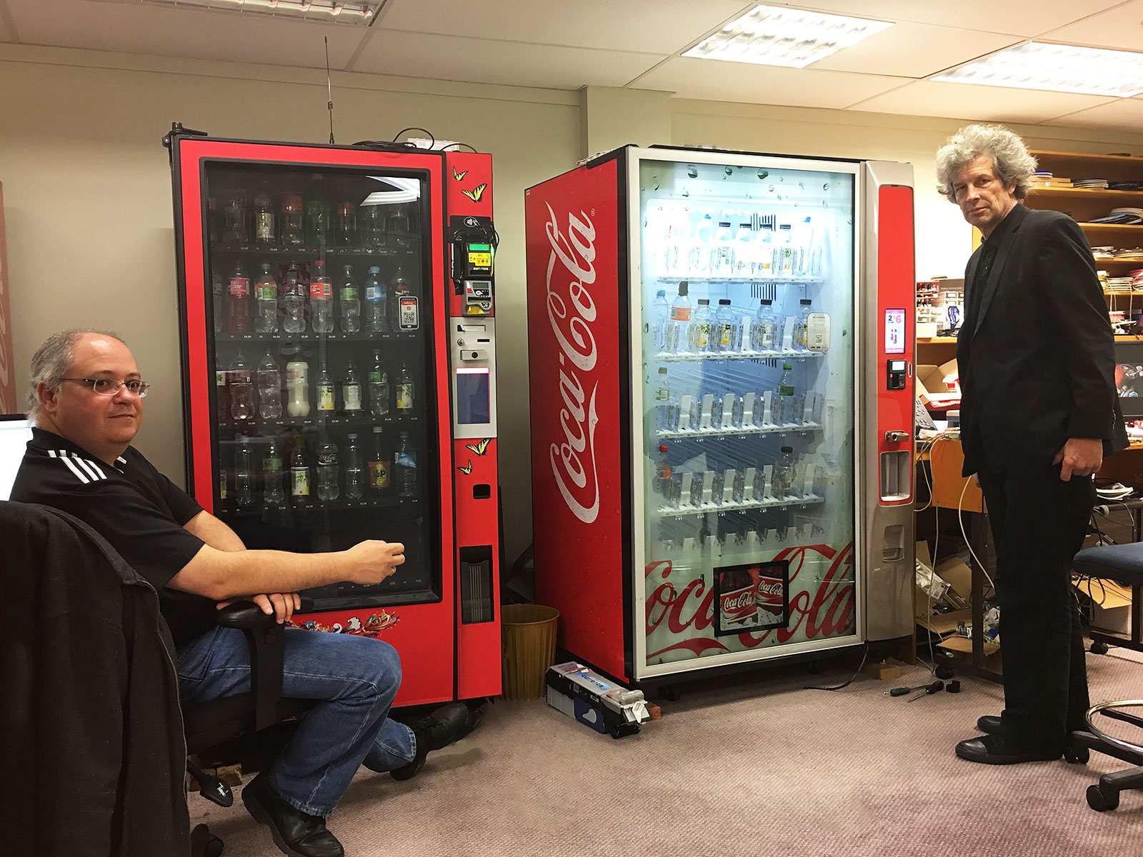 coca-cola ai vending machine
