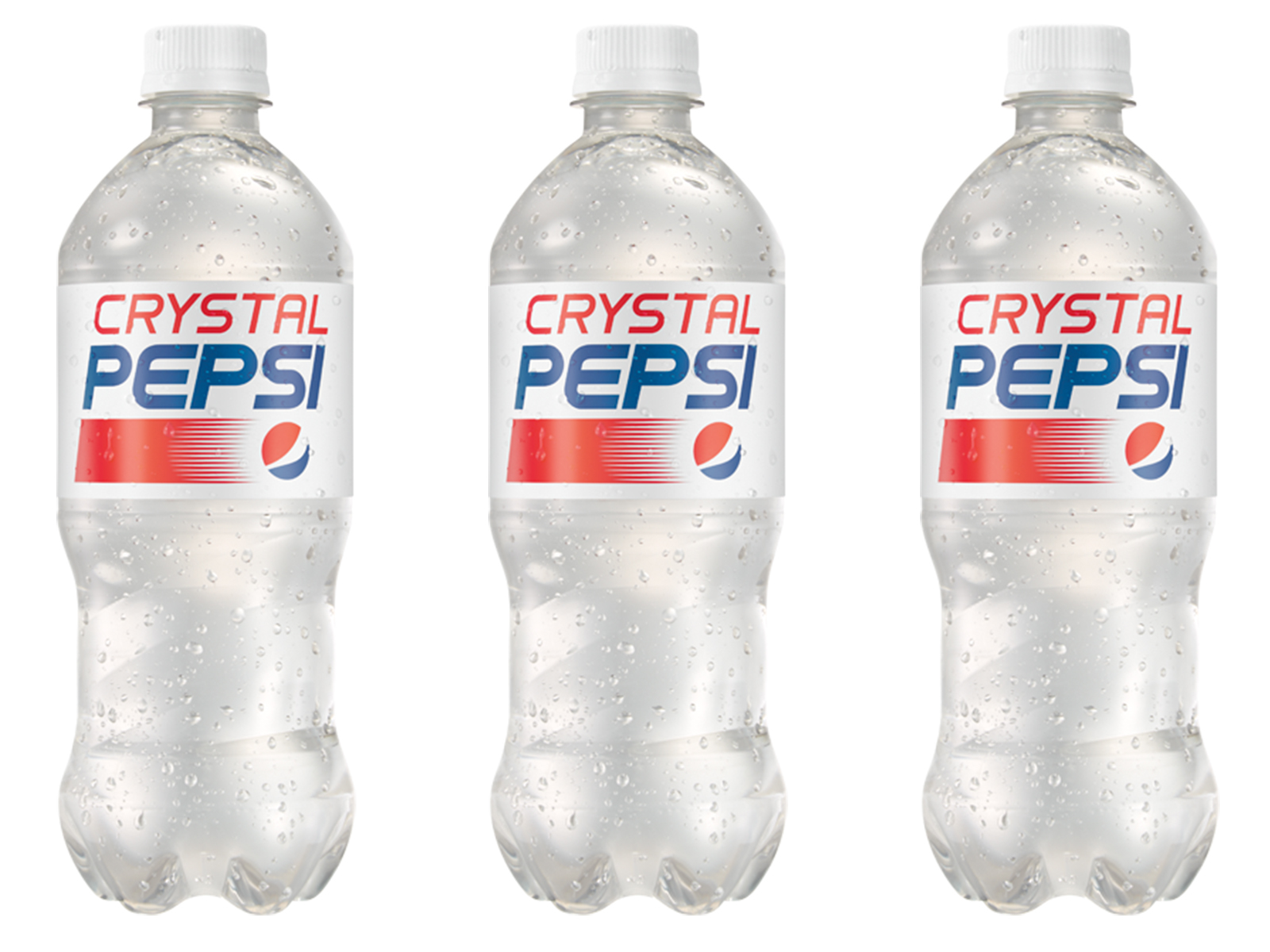 Crystal Pepsi Is Back on Store Shelves