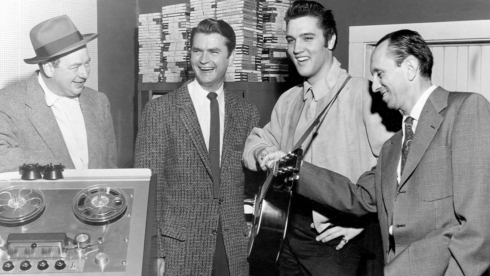 Elvis at Sun Studios in Memphis