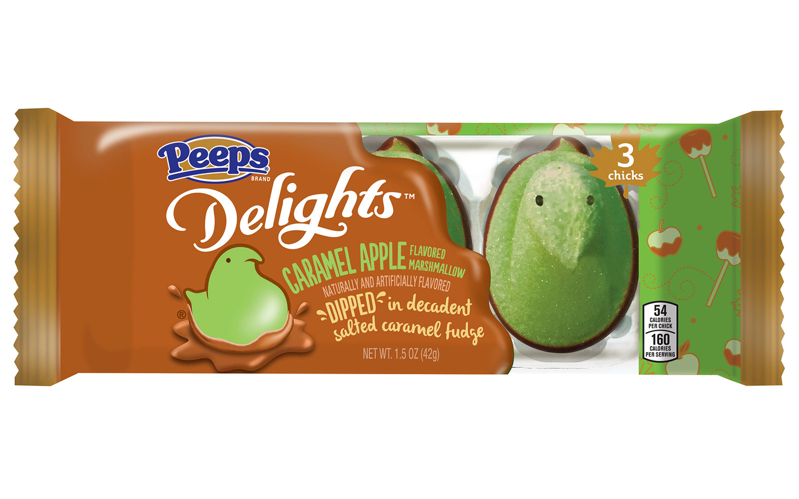 caramel apple peeps